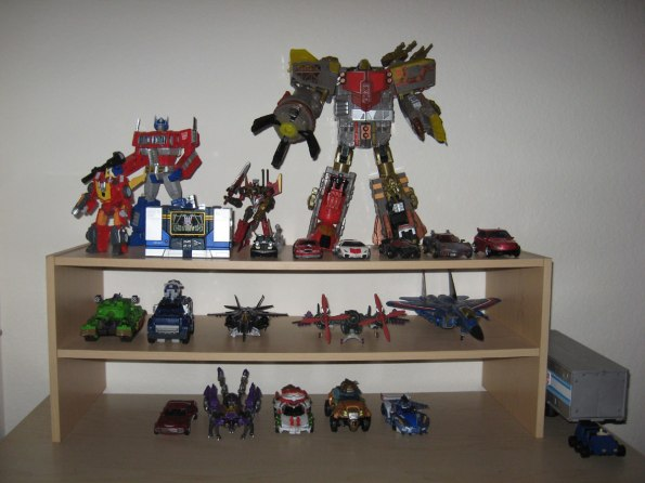 TFs on my shelf